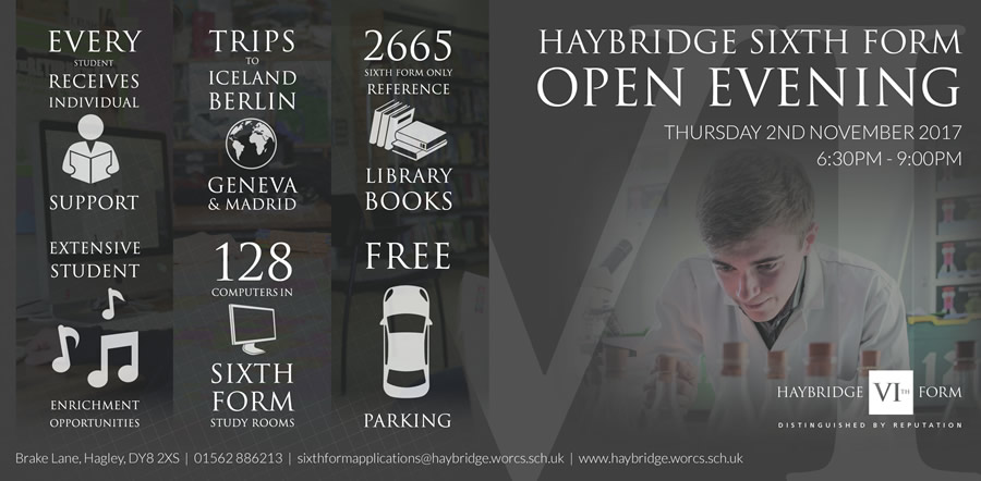 Open Days at Haybridge